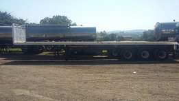 Rapid Truck Bodies flat bed trailer