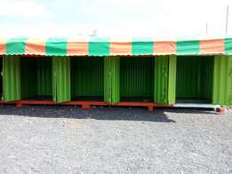 Container in Syokimau partitioned to shops on sale