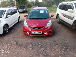 Honda Fit RS, 2010, Red, 1330cc, alloys, fog Ksh 710,000