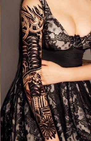Tatuaż Rękaw Bielsko Biała Olxpl