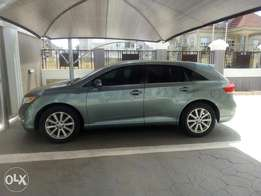 Luxurious mild green Toyota Venza