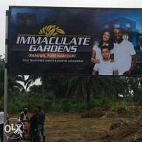 Promo : Introducing the New Immaculate Gardens, Omagwa, Port Har