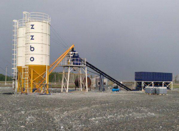 ZZBO betonnyy zavod lenta-36 konveyernaya podacha  concrete plant