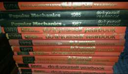 """30 ORIGINAL Popular Mechanics """"Do-it-yourself"""" yearbook AND Encycloped"""