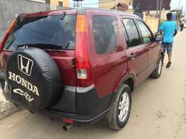 Barely used, First body CRV 2003