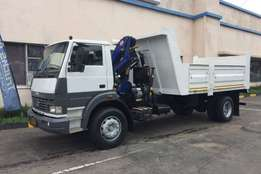 2013 LPK1518 Tipper with crane