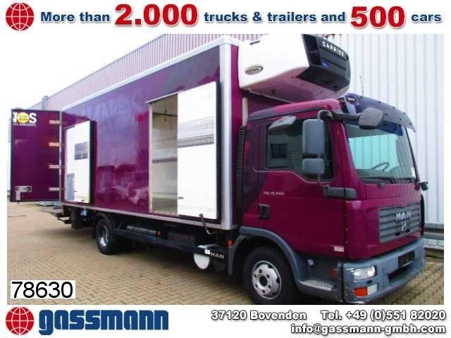 Carrier man tgl 12.240 bl 4x2 kühlkoffer - 2008