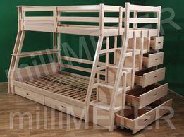 двухъярусная кровать детская мебель Olxua