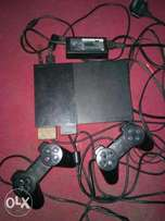 Ps2 console with accessories