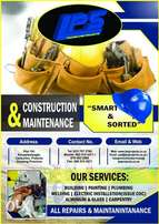 Maintenance and construction work