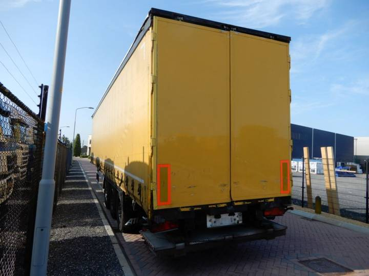 GSPRS 27 curtain / tailgate / Hard-wood floor / SAF Disc - 2010