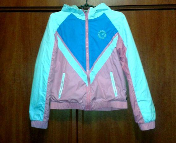 8e2db48a4025c Курточка двухсторонняя для девочки Tiffosy Португалия Комсомольское -  изображение 1