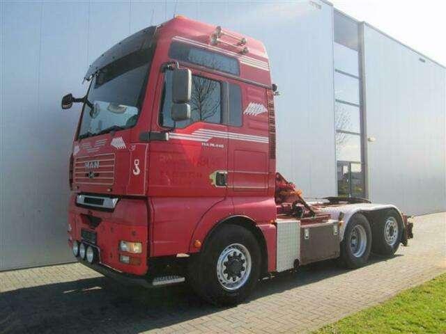 Euro Tga26.440 6x4 Hydrodrive Manual Xxl - 2007