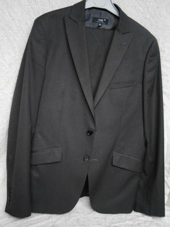 9816df8c44f0e Garnitur męski, grafit, czarny, spodnie garniturowe + marynarka Oodji  Knurów - image 1