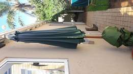 Canvas outside umbrella and stand R600