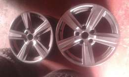 Bmw 17 inch mag wheels for sale