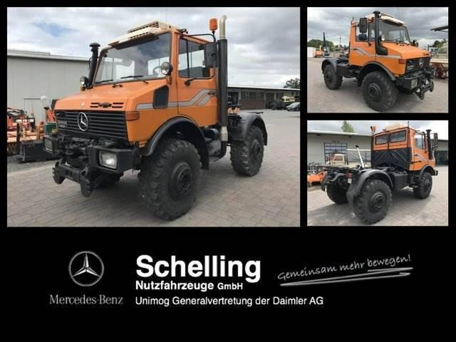 Mercedes-Benz Unimog U 1600 - 427 - Komunal - 1991