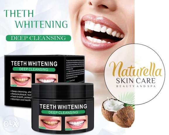 Coconut Charcoal Powder for Teeth Whitening