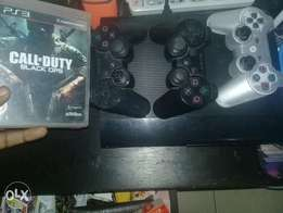 PS 3 500gig & 3pads &10 cds