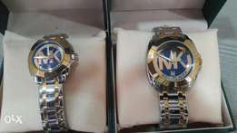 Michael kors couple wristwatch.