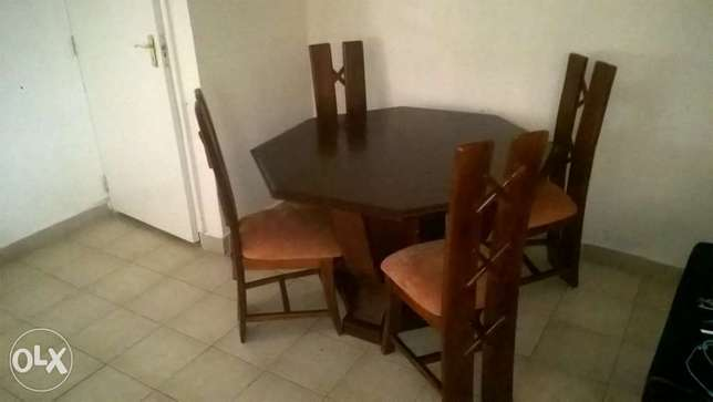 4 Seater Dining Set Polyview - image 1