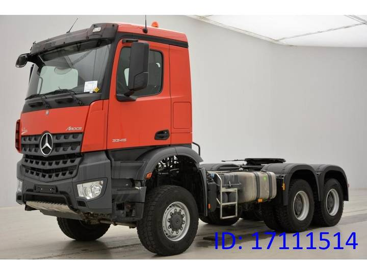 Mercedes-Benz Arocs 3345AS - 6x6 - 2016