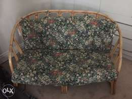 Cane 2 seater couch