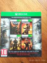Gears of War 1,2,3 and Judgement - Xbox One