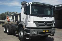 2013 Mercedes Benz Chassis cab Axor 2628 B/33 Truck for sale