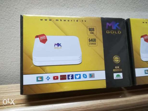 TV box MK gold with Subscription