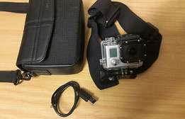 GoPro Hero3 Black Edition with accessories