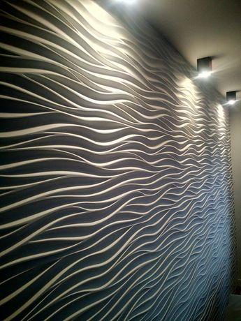 Dekoracyjne Gipsowe Panele 3d Fala 1 Radom Olxpl