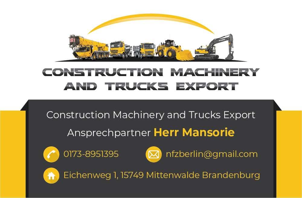 Nutzfahrzeuge und Baumaschinen Export