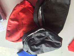 6 x leather reels bags
