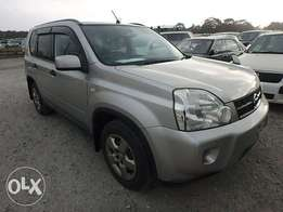 Nissan X-Trail Year 2010 Model Automatic 4WD Silver Color KCN