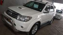 **2010 Toyota Fortuner 3.0 D4D R/B** Manual** Only R229900**