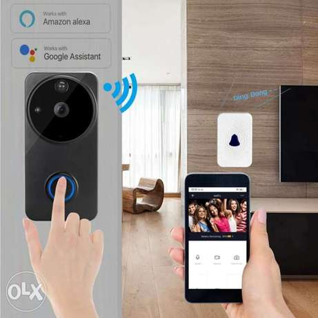 Smart wifi voice intercom wireless doorbell Wireless WiFi Remote Smart