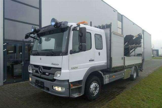 Mercedes-Benz Atego 1324 4x2 Crane/kran Hiab 099 Manual Full S - 2011
