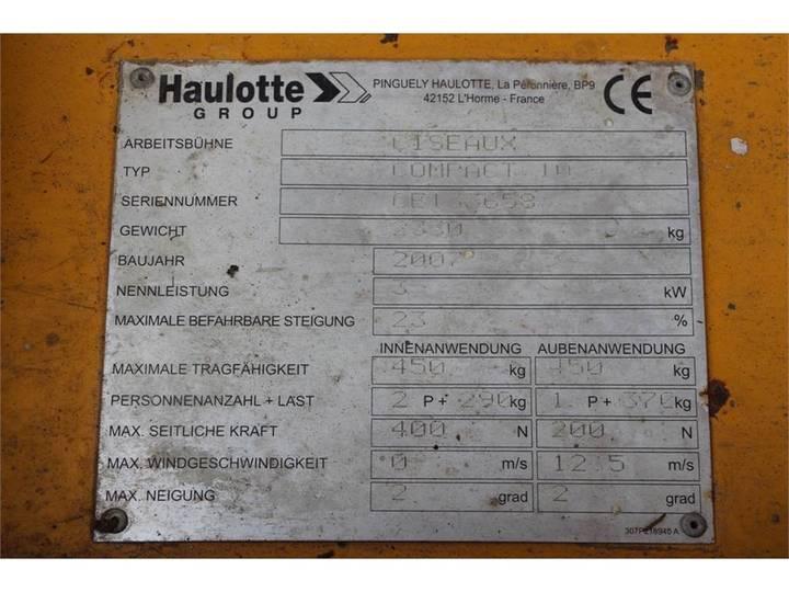 Haulotte COMPACT 10 - 2007 - image 5