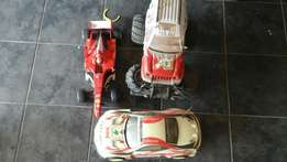 Racing cars, subaru/toyotax2/ferrari, with pro remote, R350.