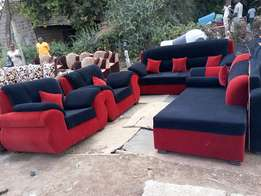 Five seater+sofa bed
