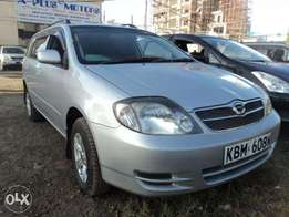 toyota corolla fielder on quick sale