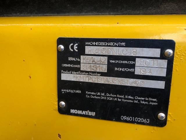 Komatsu Pc 350 Nlc-8 - 2011 - image 6