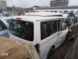 Toyota matatu box kCL with damaged both front and sliding door