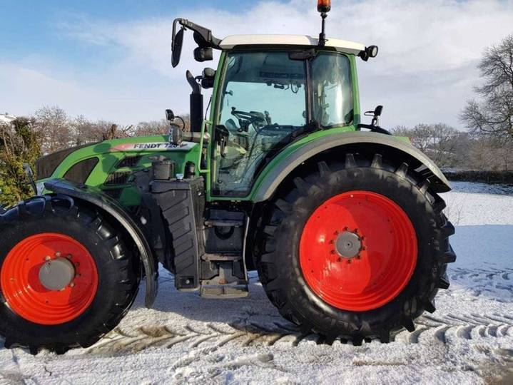 Fendt 720 profi plus - 2014