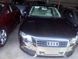 Fully loaded Audi A4 with fog lights