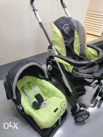 Car seat and stroller peg p