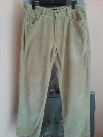e74ae25a3bcf72 Spodnie męskie Hugo Boss - Łódź - Spodnie męaskie Hugo Boss ze sztruksu,kolor  beżowy