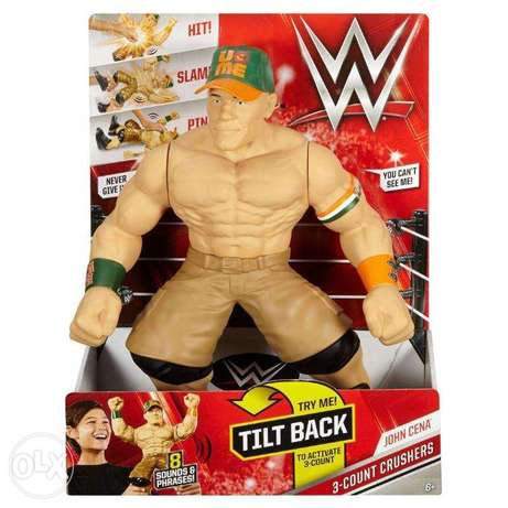 WWE 3 Count Crushers John Cena Figure toy