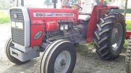 Massey Fugerson mf 260 60hp,2disc plough 2 year warranty and service .